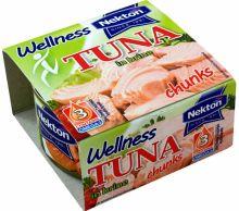 Tuňák kousky ve vlastní šťávě Wellness 185 g