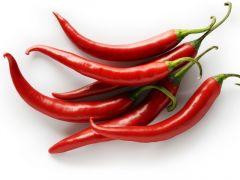 Paprika feferonka pálivá červená balená 100 g