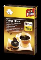 Filtry na kávu vel. 2, 80 ks
