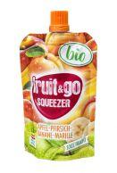 Přesnídávka BIO jablko, broskev, banán, meruňka 100 g