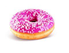 Donut s jahodovou příchutí 58g