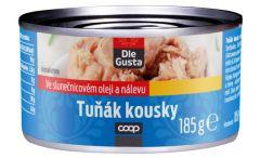 Dle Gusta Tuňák kousky v oleji 185 g