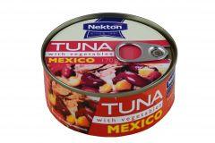 Tuňák kousky se zeleninou Mexico 170 g