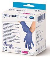 Rukavice Peha-soft nitrile M 10 ks