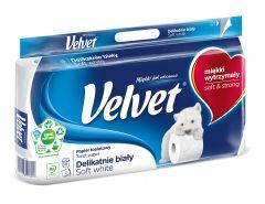 Toaletní papír Velvet White 8ks 3vrstvý