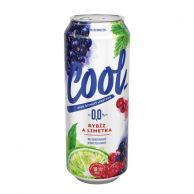 Pivo COOL Rybíz s limetkou nealko 0,5 l