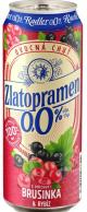 Pivo Zlatopramen nealko brusinka 0,5 l