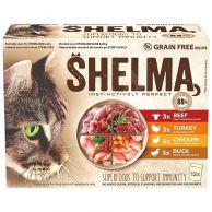 Shelma kapsa 4 druhy masa 12 x 85 g