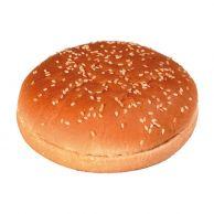 Bulka půlená sezam maxi hamburger 80g